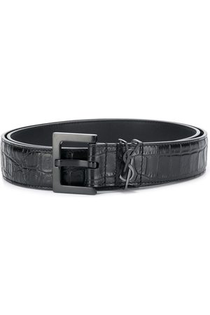 Saint Laurent Monogram detail belt