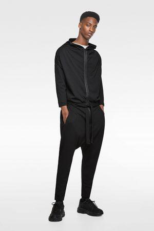 Zara Heren Jumpsuits - Jumpsuit met capuchon