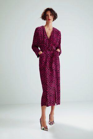 Zara Jurk met stippenprint in limited edition