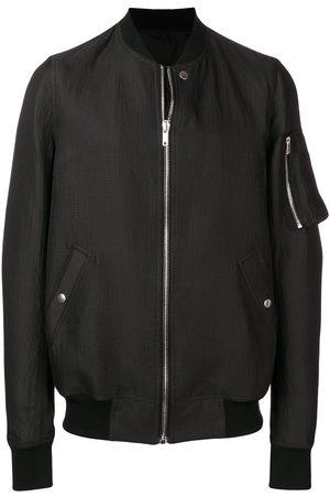 Rick Owens Bomber jacket with rib collar