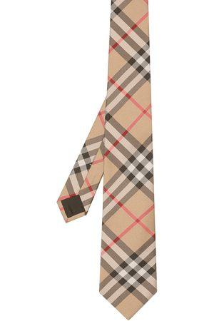 Burberry Modern Cut Vintage Check Silk Tie
