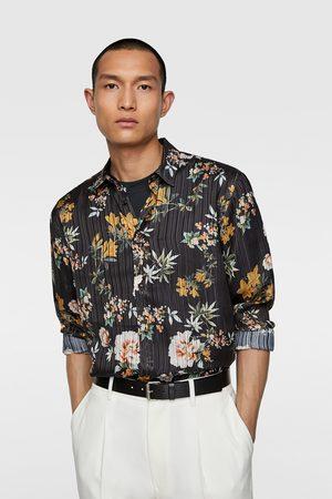 Zara Overhemd met bloemenprint