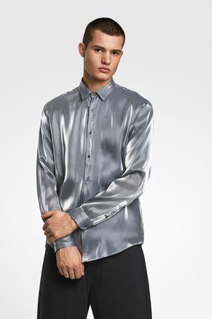 Zara Overhemd met lamé-effect