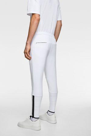Zara Broek in joggerstijl met ritsen