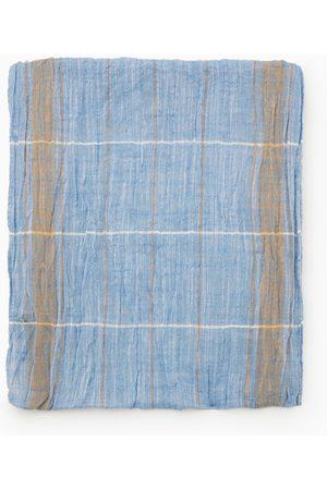 Zara Geruit sjaaltje met rafels