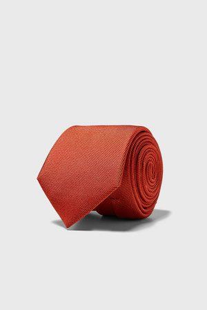 Zara Brede stropdas met structuur