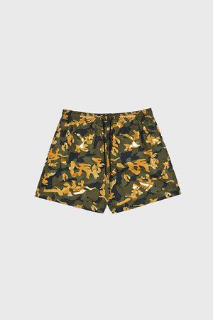 Zara Combi-zwemshort met camouflageprint