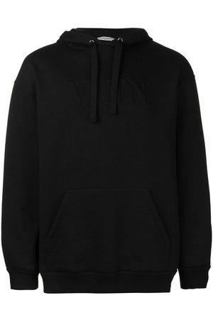 VALENTINO Embossed logo hoodie