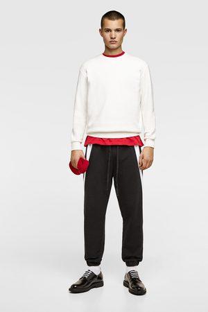 Zara Dual-stripe joggers