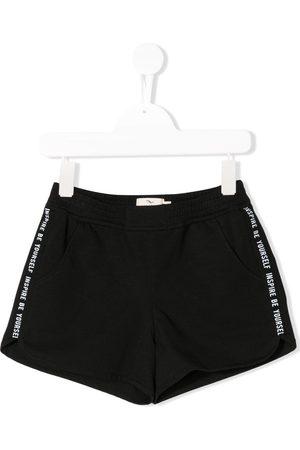 Le pandorine Side stripe running shorts
