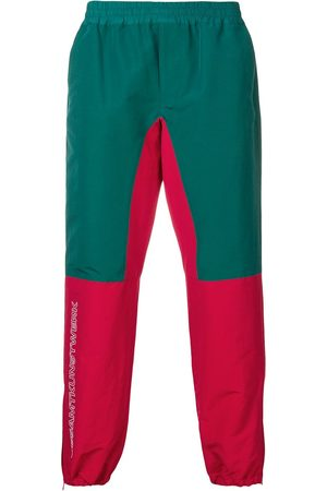John Undercover Colour-block track trousers
