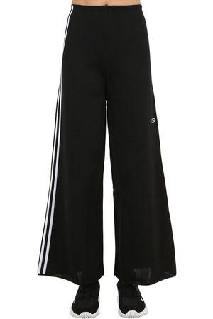 adidas Wide Leg Techno Track Pants