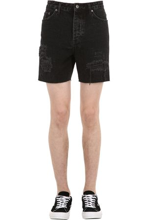 KSUBI Heren Jeansshorts - Dagger Dan Cotton Denim Shorts