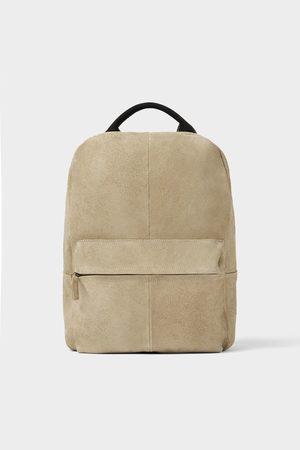 Zara Soft leather backpack