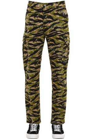 OAKLEY TNP Tnp Camo Print Cotton Blend Cargo Pants