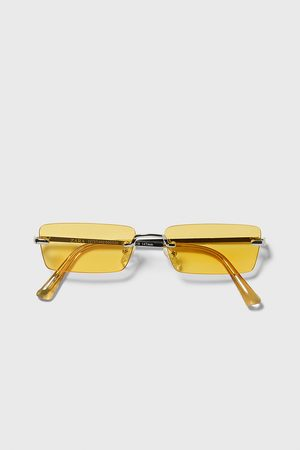 Zara Rectangular sunglasses