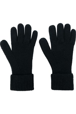 N.PEAL Heren Handschoenen - Ribbed gloves