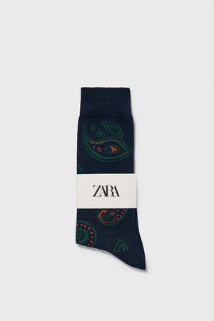 Zara Heren Sokken & kousen - Jacquard sok met paisleyprint