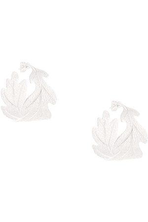 Karen Walker Dames Oorbellen - Oak leaf earrings
