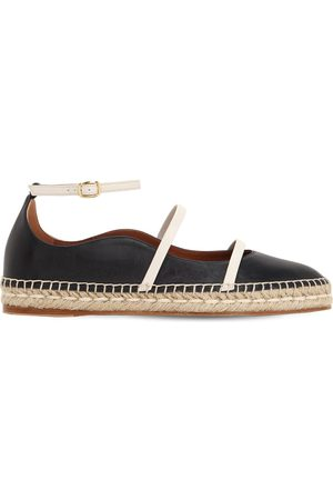 MALONE SOULIERS 20mm Selina Leather Espadrilles
