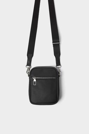 Zara Zwarte basic minischoudertas