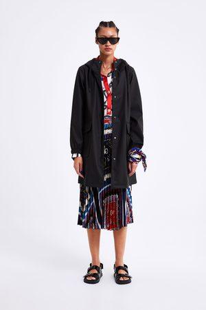 Zara Dames Regenkleding - Regenjas met capuchon