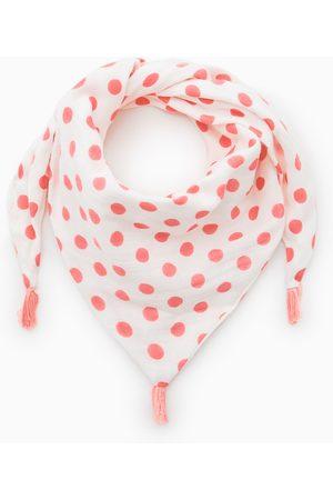Zara Baby Sjaals - Driehoekig sjaaltje met stippen