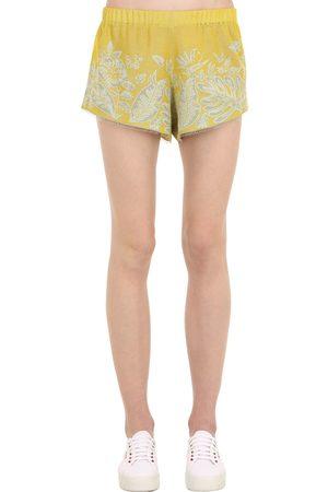 Alanui Dames Shorts - Hawaiian Dream Jacquard Shorts