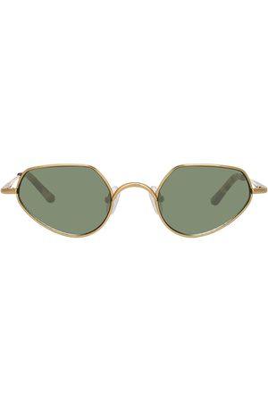 Linda Farrow Angular sunglasses