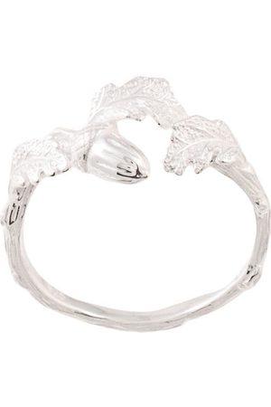 Karen Walker Acorn & leaf ring