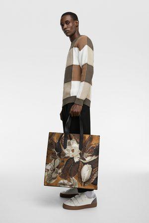 Zara Shopper met bloemetjesprint