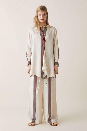Zara Studio gestreepte broek limited edition