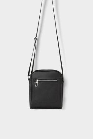 Zara Zwarte basic schoudertas