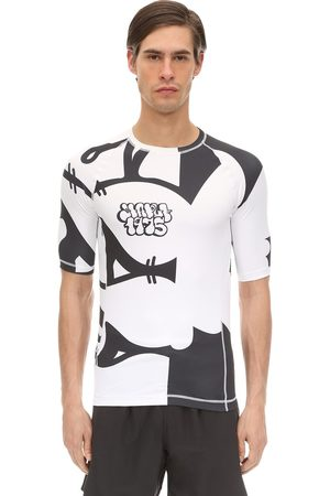 OAKLEY X JEFF STAPLE Staple 1975 Printed Rash Guard