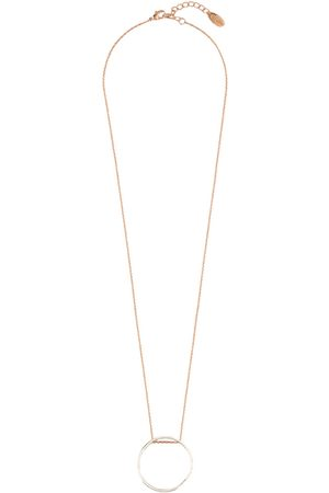 Orelia Dames Kettingen - Kettingen Mix Plate Long Open Circle Necklace