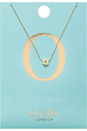 Orelia Kettingen Necklace Initial O