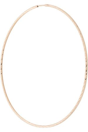 Maria Black 14kt yellow Liv 65mm hoop earring