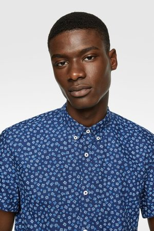 Zara Oxford overhemd met bloemenprint
