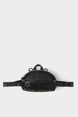 Zara Multifunctionele schoudertas met netstof