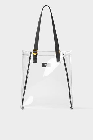 Zara Transparante shopper