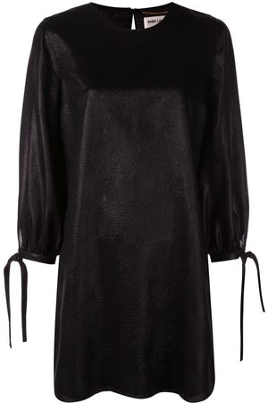 Saint Laurent Tie sleeve shift dress