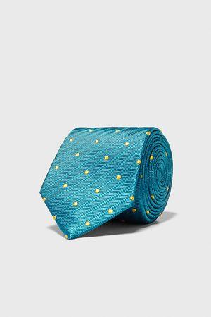 Zara Heren Stropdassen - Brede stropdas met stippen