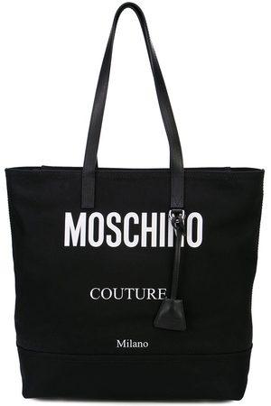 Moschino Contrast logo tote bag
