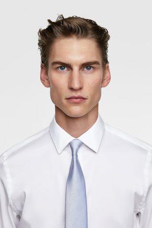 Zara Brede tweekleurige stropdas