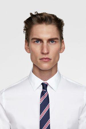 Zara Smalle stropdas met strepen