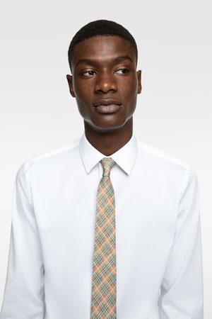 Zara Brede geruite stropdas