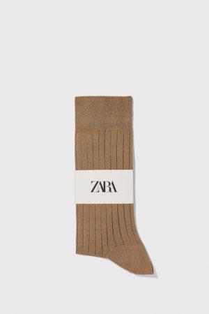 Zara Gemerceriseerde ribsokken van premium kwaliteit