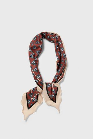 Zara Retro print scarf