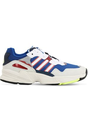 adidas Yung 96 Mesh & Faux Suede Sneakers