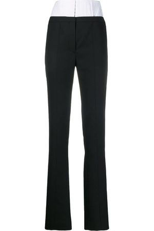 MUGLER High waisted corset trousers